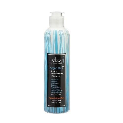 Argan Oil 7 Non-Foaming Shampoo 8 oz