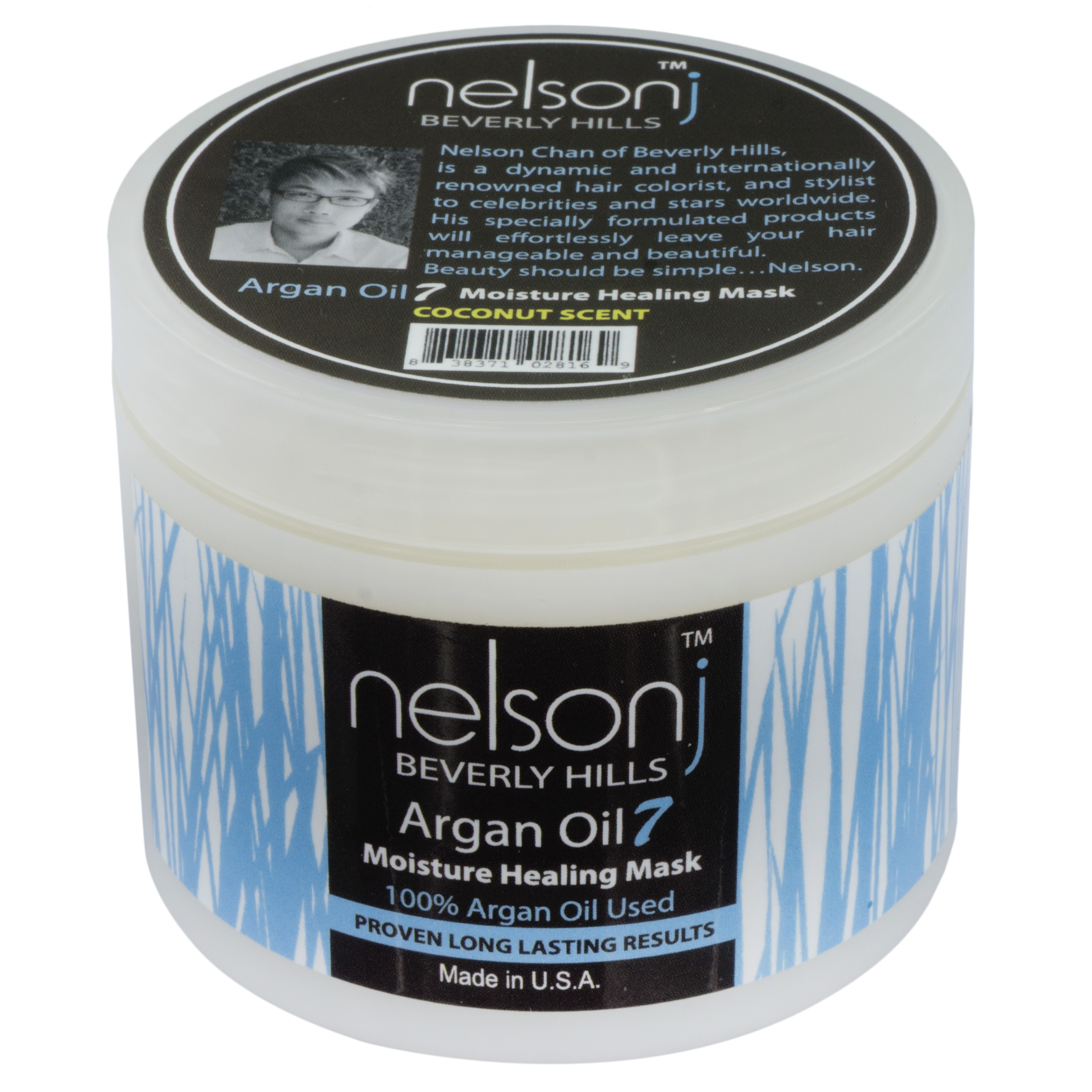 Argan Oil 7 Moisture Healing Mask - Coconut Scent 4oz