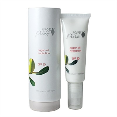 100% Pure Argan Oil Hydration Facial Moisturizer SPF 30