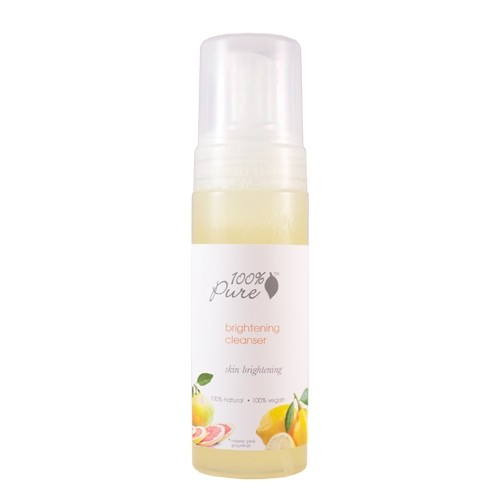100% Pure Brightening Facial Cleanser 6oz