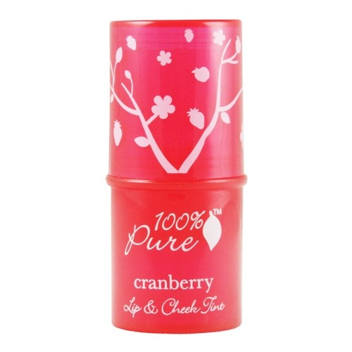 100% Pure Cranberry Glow Lip & Cheek Tint