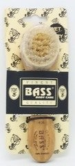 Bass Brushes Deluxe 100% Natural: Facial Cleansing Brush, Acrylic Handle, Assorted Colors