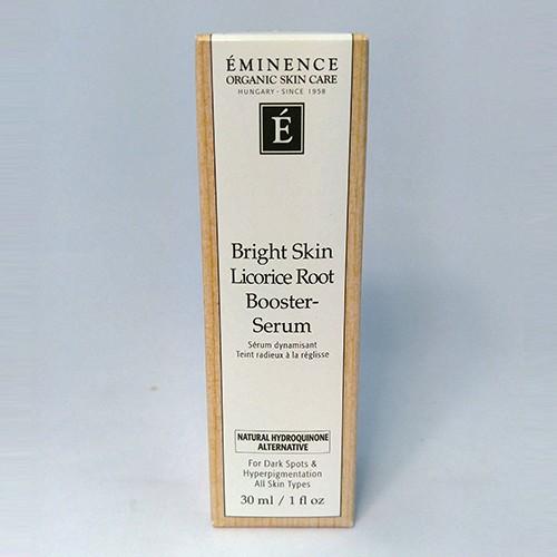Eminence Organic Bright Skin Licorice Root Booster Serum - 1 oz / 30 ml