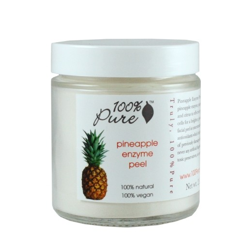 100% Pure Pineapple Enzyme Facial Peel Mask 2.9 oz