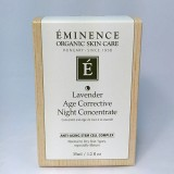 Eminence Organic Lavender Age Corrective Night Concentrate 1.2 oz / 35 ml
