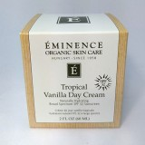 Eminence Organic Tropical Vanilla Day Sun Cream SPF 32 - 2 oz / 60 ML