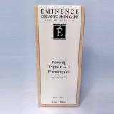 Eminence Organic Rosehip Triple C + E Firming Oil 1 oz