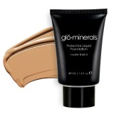 gloMinerals Protective Liquid Foundation - Matte II Golden