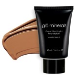 gloMinerals Protective Liquid Foundation - Matte II Honey